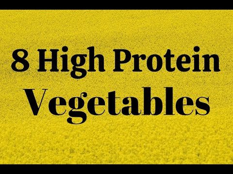 8-High Protein Vegetables