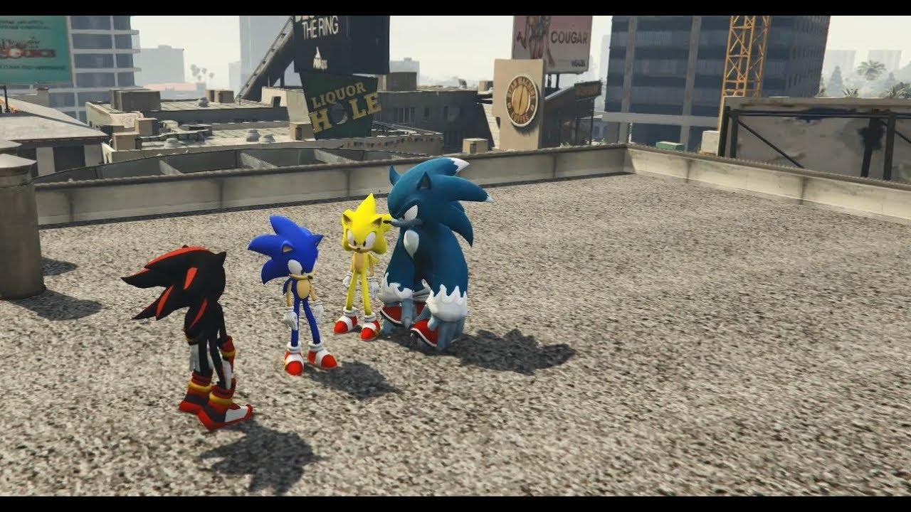 GTA 5 – Nhím Sonic tìm về nguồn cội (ý tưởng Fan) | GHTG