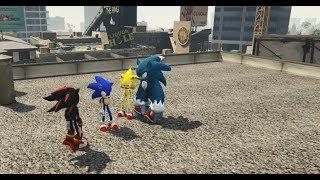 GTA 5 - Nhím Sonic tìm về nguồn cội (ý tưởng Fan) | GHTG