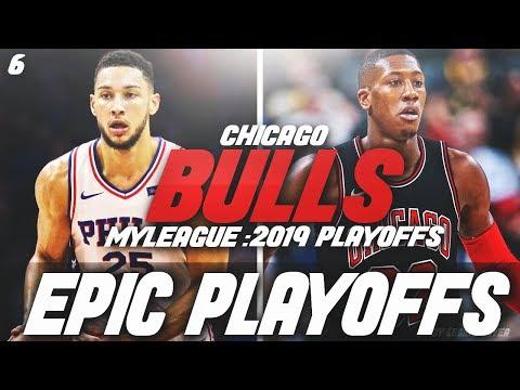BEN SIMMONS DOMINATES IN PLAYOFFS! | NBA 2K18 CHICAGO BULLS MYLEAGUE