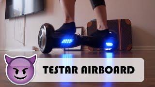 TESTAR AIR-BOARD   vlog