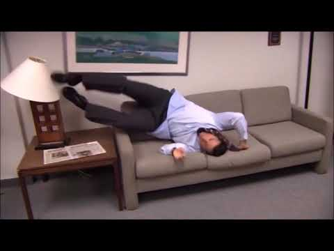 1 Hour Of Parkour Meme The Office Youtube