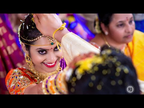 Subhash + Vinusha | Telugu Wedding Highlights By RJ Wedding Films