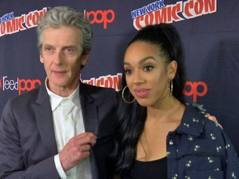 'Doctor Who' travels to NY Comic-Con
