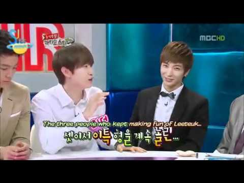 ENG SUB - Super Junior talk about fighting between the members
