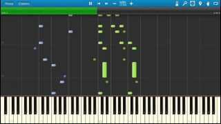 Charles Gounod - Funeral March of a Marionette. Piano (Synthesia)