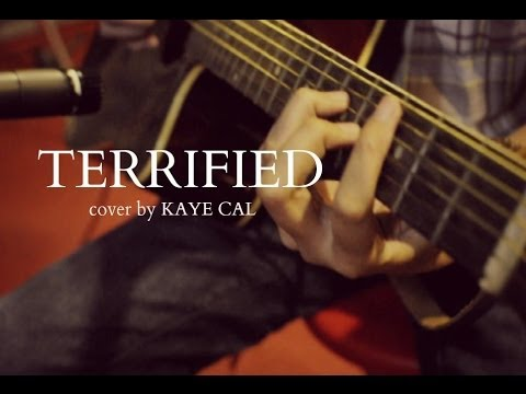Terrified - Katharine Mcphee (KAYE CAL Acoustic Cover)