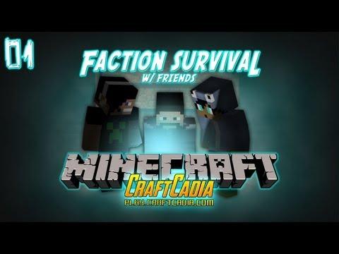 Minecraft: Faction Survival #01 (com Amigos)