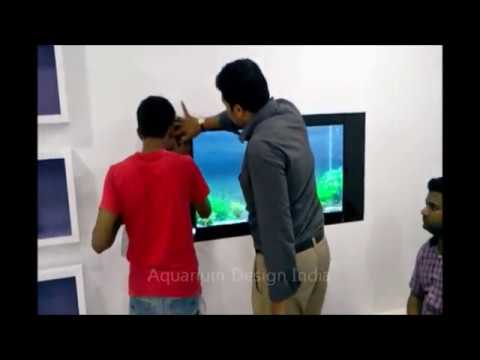Plasma Aquarium Installation Kadappa Sight By Jabbar
