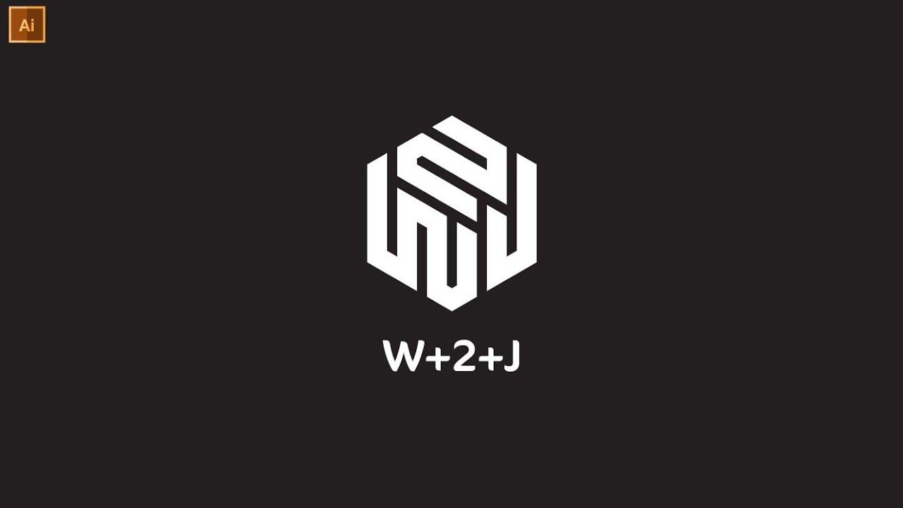 Professional Polygon Logo Design In Illustrator   Modern Logo Design    Graphic Hunters
