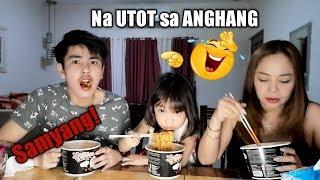 Nag Tae sa Samyang Challenge hahahha