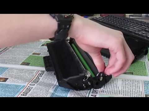Чистка картриджа: принтер Samsung SCX-4200
