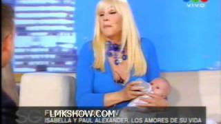 Flor de la V y sus bebes con Susana 3
