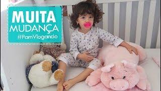 TCHAU, BERÇO... OI, CAMA!   #PamVlogando (0113/17)