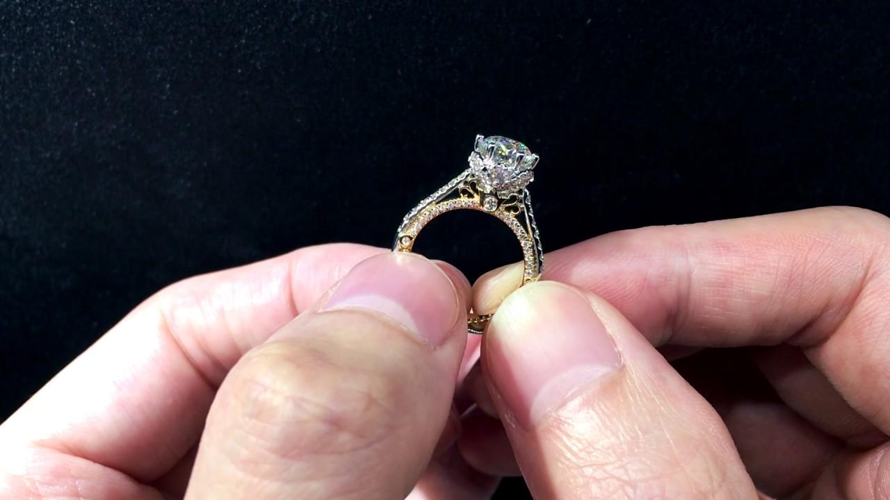 Verragio Venetian 5070D - 2WR Engagement Ring - YouTube
