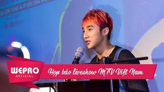 2015.10.08 SƠN TÙNG | HỌP BÁO Liveshow MTV Vietnam EMA Connection