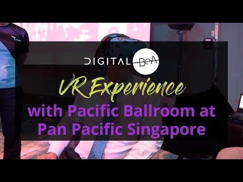 Explore Pan Pacific Singapore's Pacific Ballroom through VR