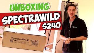 Unboxing du SpectraWILD S240 de la marque BloomLED !
