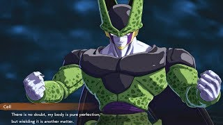 Dragon Ball FighterZ - All Cell Special Cutscenes (Event Links) Breaking The 4th Wall