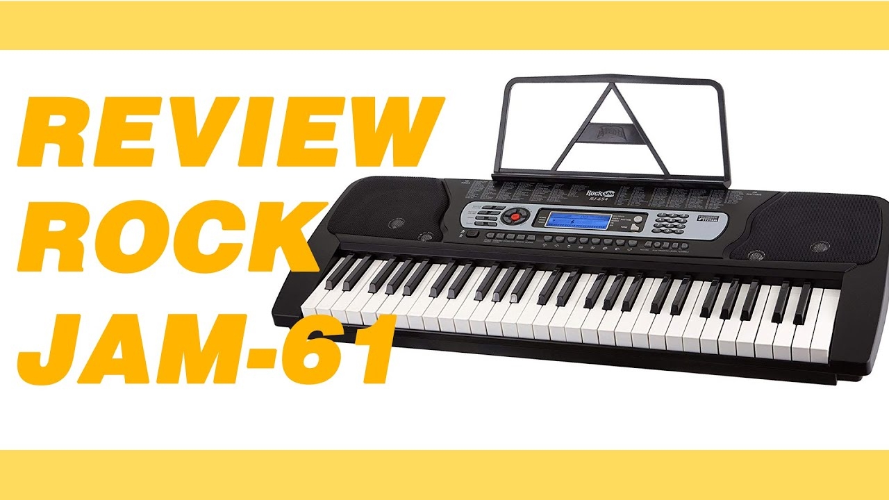 fb424a42cf7 RockJam Keyboard Review - YouTube
