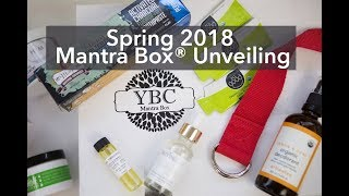 UNBOXING: 2018 Spring Mantra Box