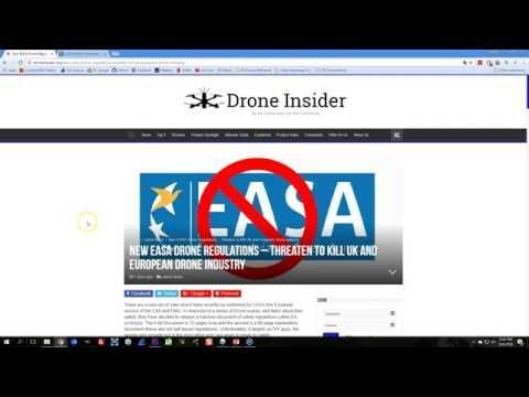 Proposed EASA Drone Regulations | ALERT!