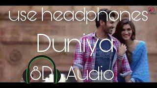 Duniya (8D AUDIO) - Luka Chuppi   Kartik Aaryan Kriti Sanon   Akhil   Dhvani B
