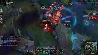 jax gameplay with a tyler1 stream narrating and a [bsd.u] song playing under my loud keystrokes
