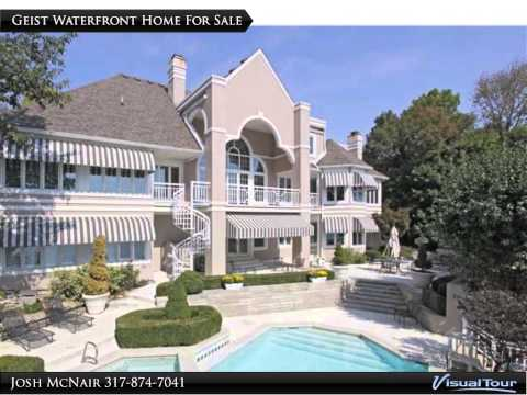 Geist Reservoir Mansions - Million Dollar Luxury Waterfront Homes For Sale Indianapolis Indiana