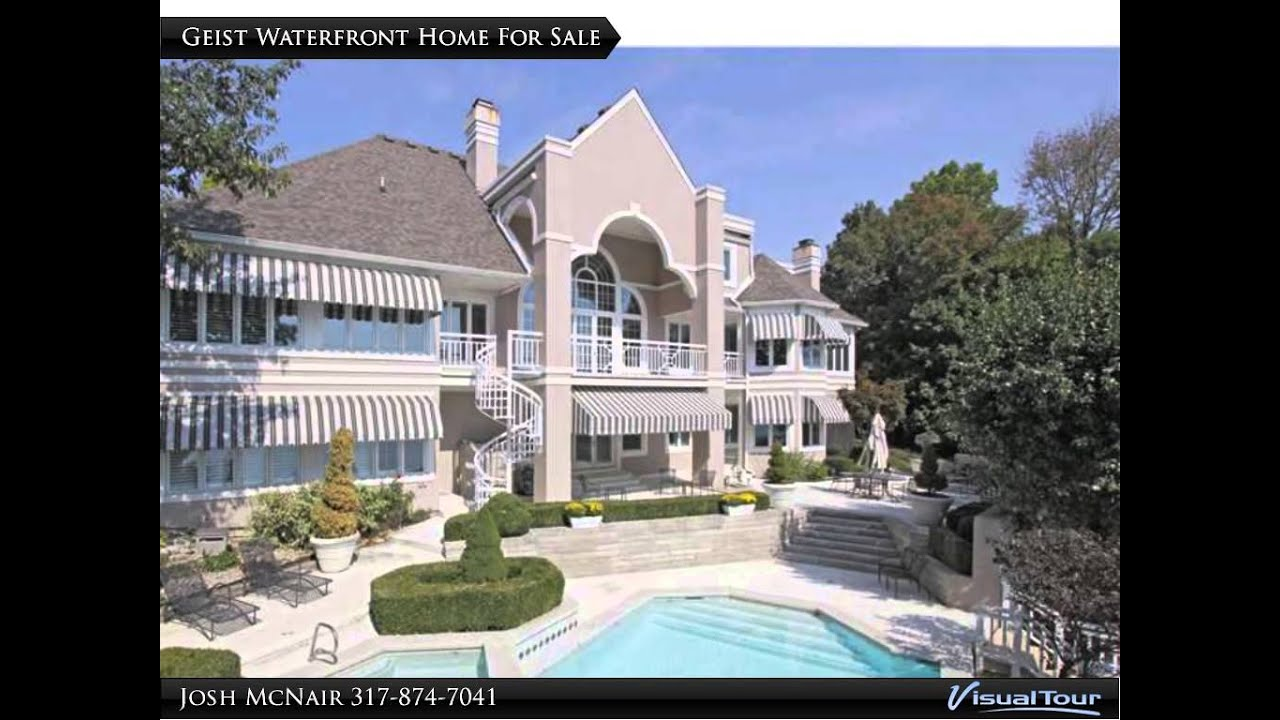 geist reservoir mansions million dollar luxury waterfront homes for sale indianapolis indiana. Black Bedroom Furniture Sets. Home Design Ideas