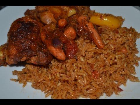 recette du Riz au gras - Jollof rice (cuisine togolaise)