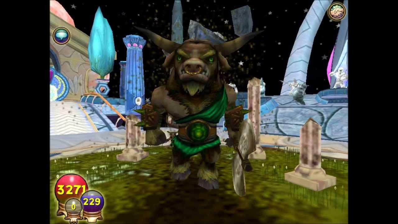Life Minotaur Pet Spell - Wizard101