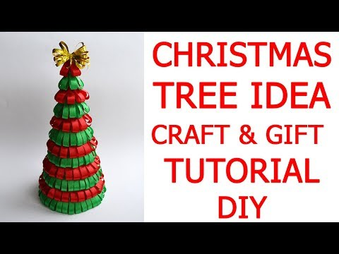 Beautiful CHRISTMAS TREE Idea Craft | Gift for family and friends |Tutorial DIY