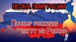 Почему россияне бегут из России?