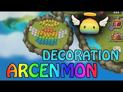 COMMENT FAIRE UN PIXEL ART ARCENMON ? - SUMMONERS WAR