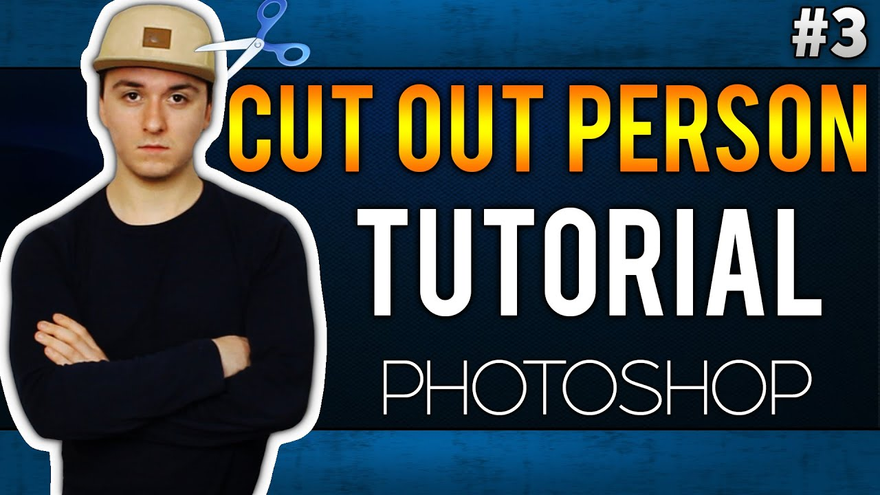 how to cut a person out of a photo easily adobe photoshop cc