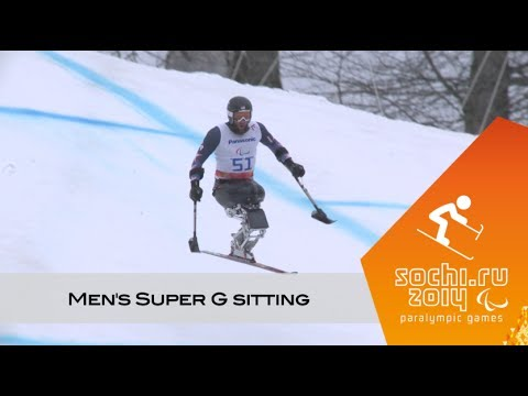 Men's Super-G sitting | Alpine skiing | Sochi 2014 Paralympics Winter Games