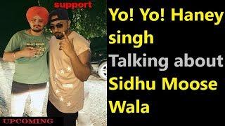Hany singh talking about sidhu moose wala songs Hany singh react on just listen