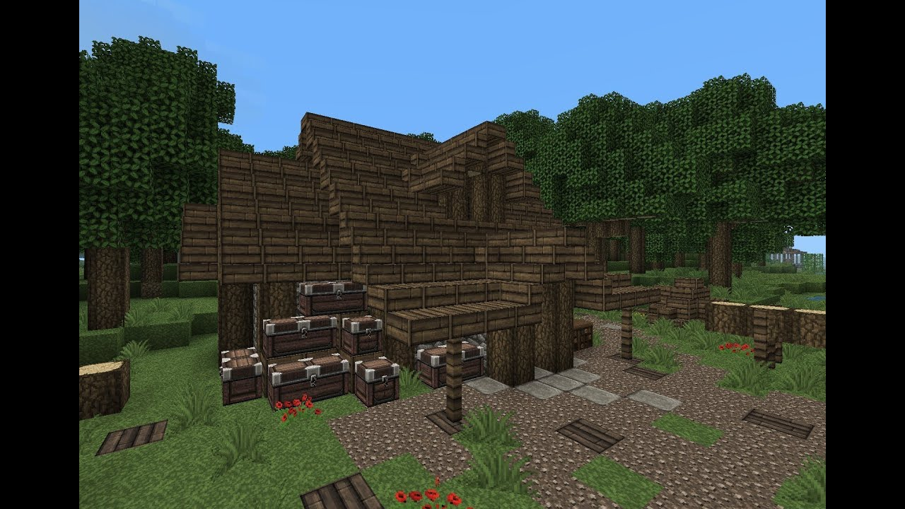 Youtube How To Build A Shed On Minecraft