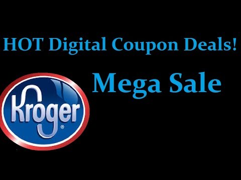 Best Couponing Deals  Kroger Mega Sale   HOT Digital Coupon Deals
