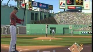 Mlb 2k9 ( xbox 360) GamePlay - Boston Red sox Vs New York Yankees.