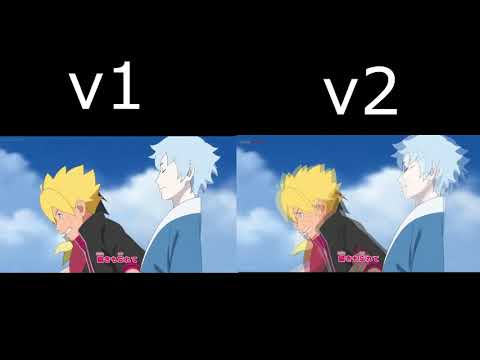 Boruto Opening 1 version 1 and 2 (English)