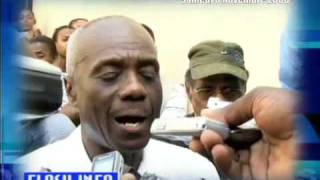 School Collapse Haiti DAY 2 NEWS TELEMAX 1 of 2