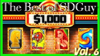 OVER $8,000.00 IN WINS! Dollars & Hollars! $1,000 Wins on Your Favorite Slot Machines W/ SDGuy1234