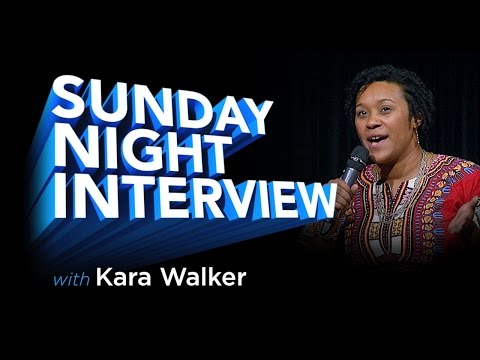 Sunday Night Interview: Kara Walker