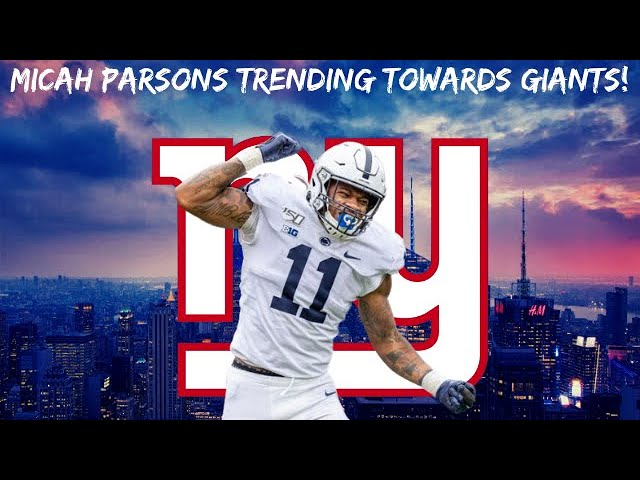 New York Giants | Micah Parsons Now Being Mocked To The Giants More Than Any Other Player!