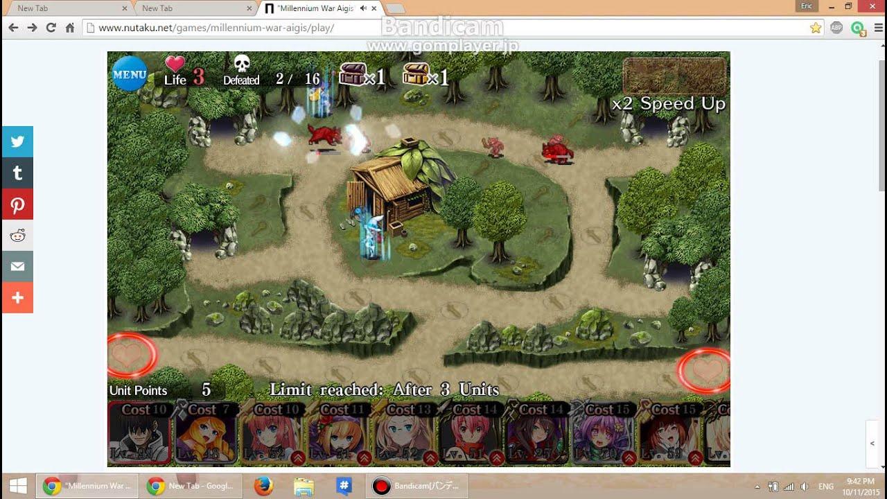 Millennium war aigis war of magic