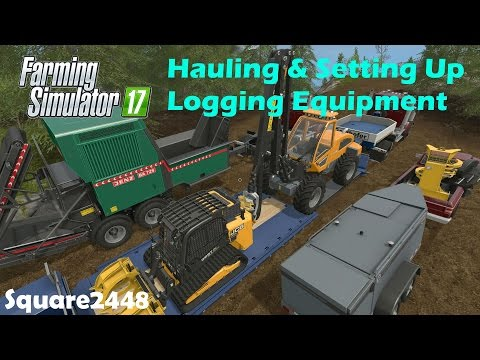 Farming Simulator 17: collect and use grass, hay and straw
