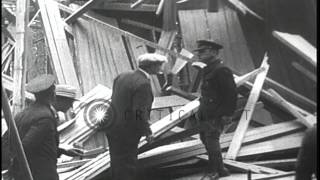 During prohibition a liquor producing site (moonshine still) is raided and demoli...HD Stock Footage