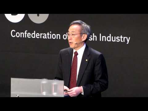 United States Secretary of Energy Steven Chu speaking at Bright Green in Copenhagen. Part 1